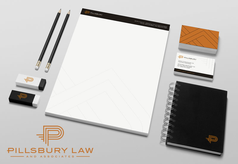 Pillsbury Law Firm Branding and Logo